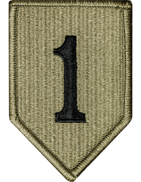 Military 1st Infantry Division Patch (Army)