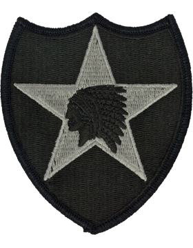 Military 2nd Infantry Division Patch
