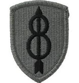 Military 8th Infantry Division Patch
