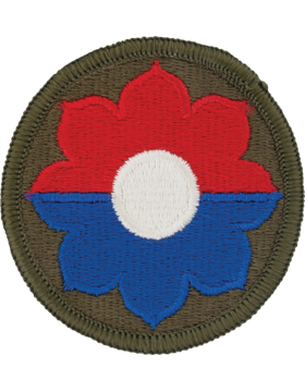 Military 9th Infantry Division Army Patch