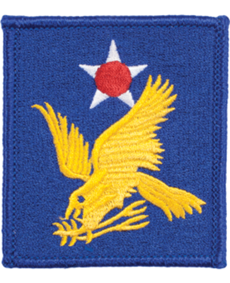2nd Air Force WWII Patch