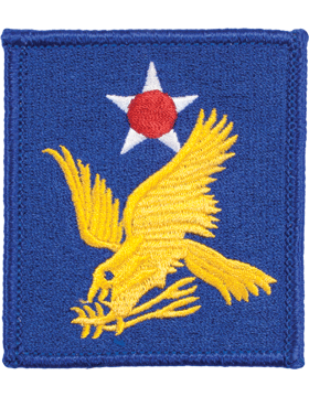 Military 2nd Air Force WWII Patch