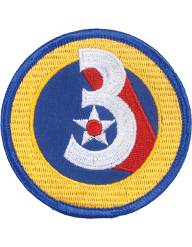 Military 3rd Air Force WWII Patch