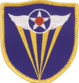 Military 4th Air Force WWII Patch