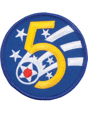 Military 5th Air Force WWII Patch