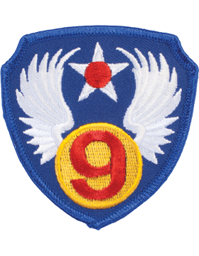 Military 9th Air Force WWII Patch