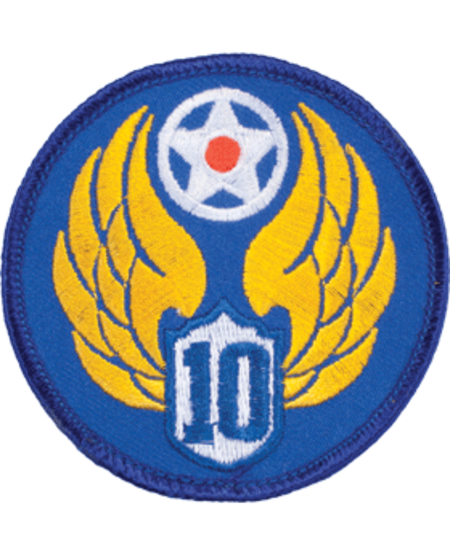 10th Air Force WWII Patch