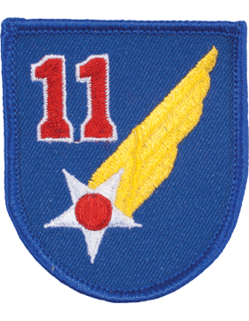 Military 11th Air Force WWII Patch