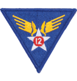 Military 12th Air Force WWII Patch