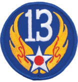 Military 13th Air Force WWII Patch