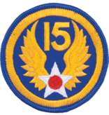 Military 15th Air Force WWII Patch
