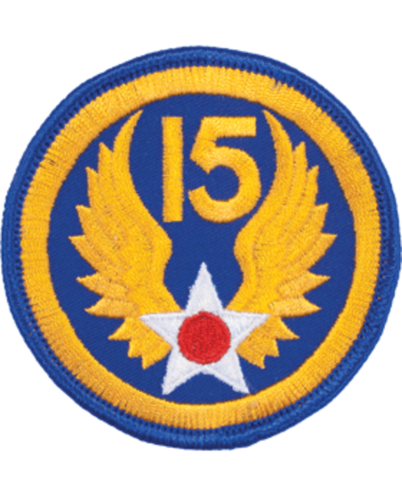 15th Air Force WWII Patch