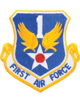 Military 1st Air Force Shield Patch