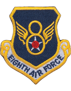 Military 8th Air Force Shield Patch