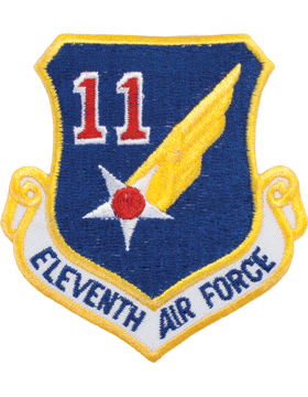Military 11th Air Force Shield Patch