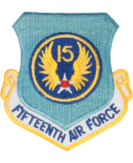 15th Air Force Shield Patch