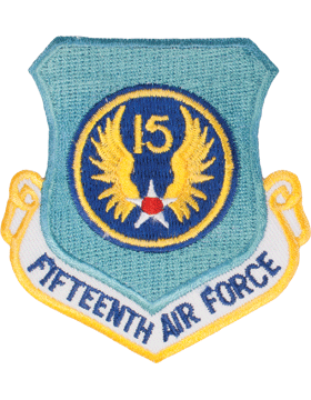 Military 15th Air Force Shield Patch