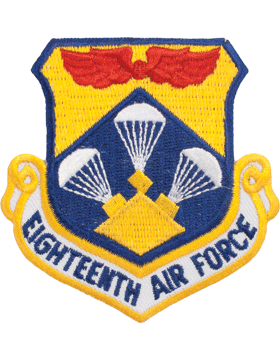 Military 18th Air Force Shield Patch