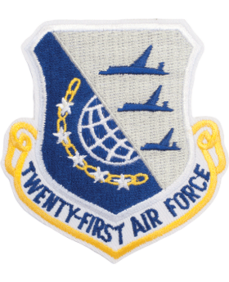 21st Air Force Shield Patch