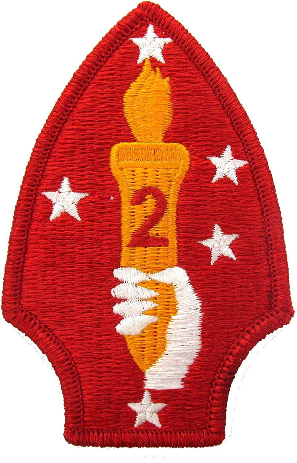 Military 2nd Marine Division Patch