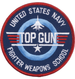 """Military US Navy Fighter Weapons School Patch 3"""""""