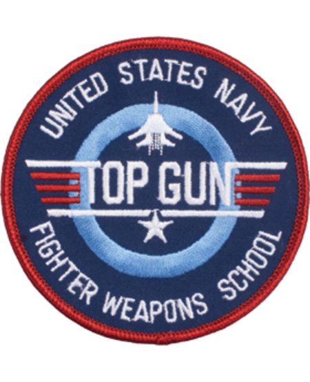 """US Navy Fighter Weapons School Patch 3"""""""