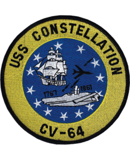 "USS Constellation CV-64 Patch 5"""