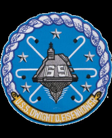 """USS Dwight D. Eisenhower Patch 5"""""""