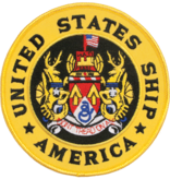 """Military US Ship American Patch 5"""""""
