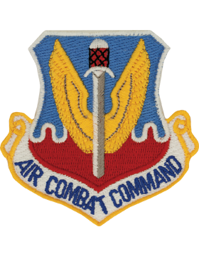 Military Air Force Combat Command Patch