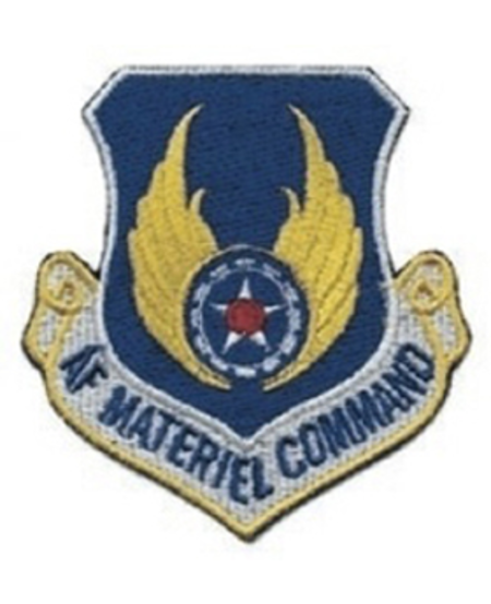 Air Force Material Command Patch - Full Color - Sew On
