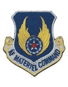 Military Air Force Material Command Patch - Full Color - Sew On
