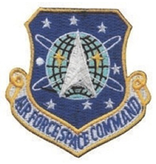 Military Air Force Space Command Patch