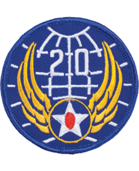 20th Air Force WWII Patch