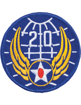 Military 20th Air Force WWII Patch