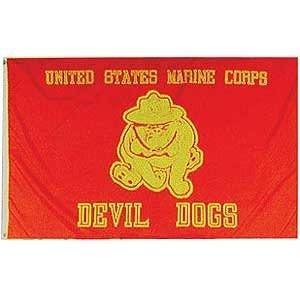 ACE World Marine Bulldog Flag
