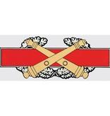 """Mitchell Proffitt Combat Artillery Badge 6.5"""" Window Decal"""