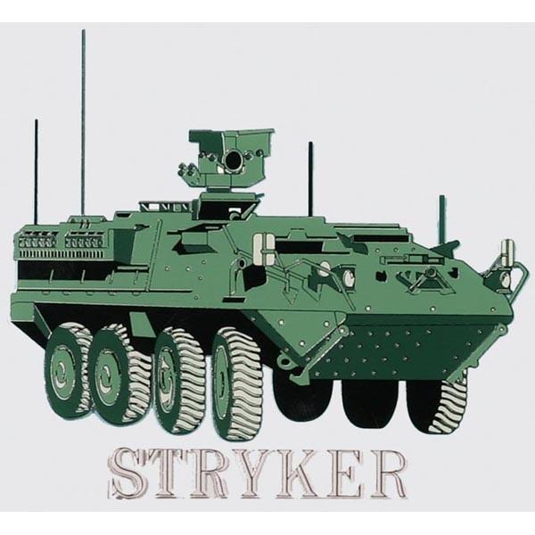 "Mitchell Proffitt Army Stryker 4.5"" Window Decal"
