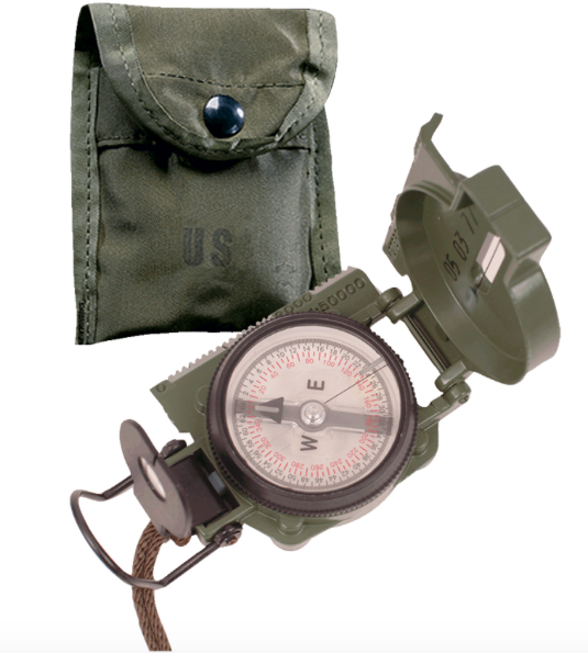 GI Lensatic Military Compass - ISSUED - NEW
