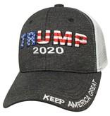 Cap Smith Trump 2020 - Raised Snap/Mesh Back Hat