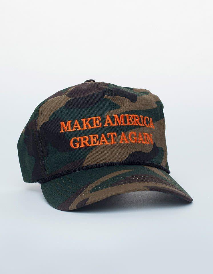 Trump Make America Great Camo Hat