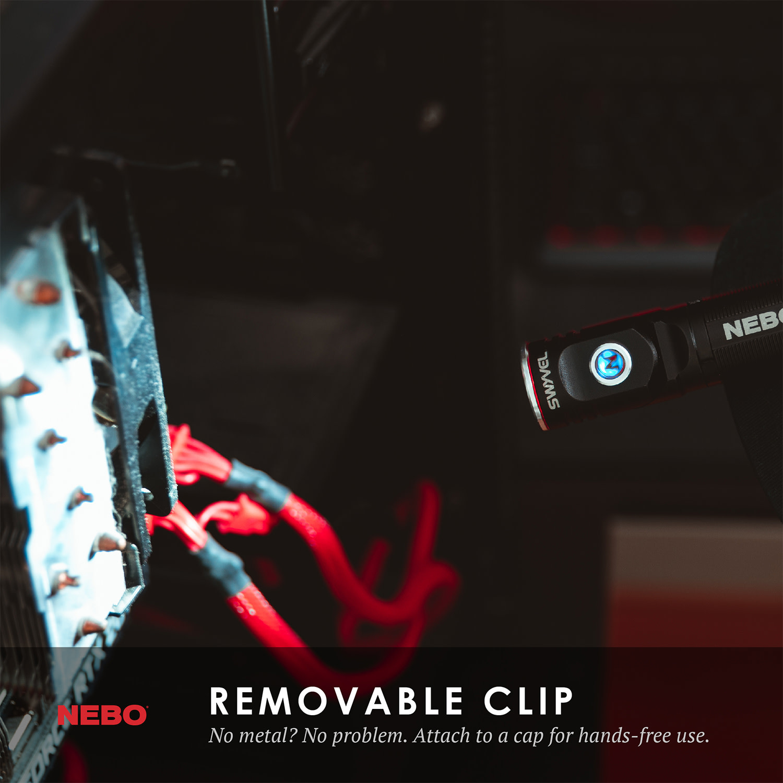 NEBO Swyvel Flashlight (1,000 Lumens)