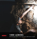 NEBO Transcend Headlamp and Flashlight (1,000 lumens)
