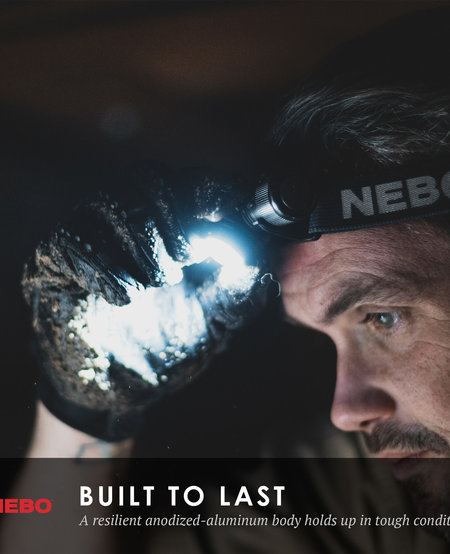 Transcend Headlamp and Flashlight (1,000 lumens)
