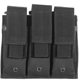 Fox Outdoor Products Triple Pistol Mag Pouch