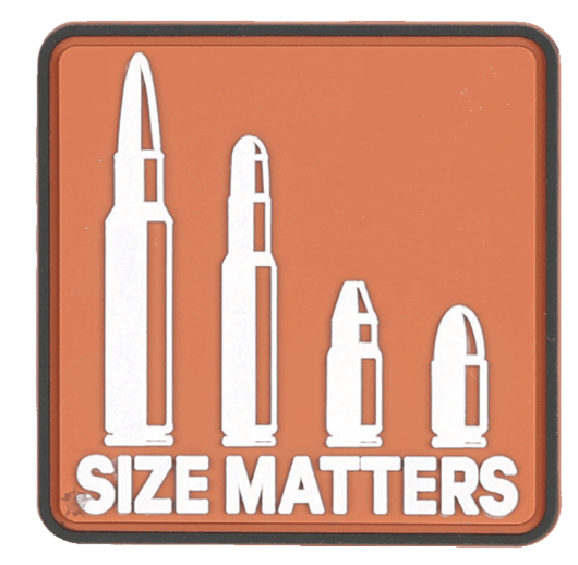 5ive Star Gear Size Matters Morale Patch