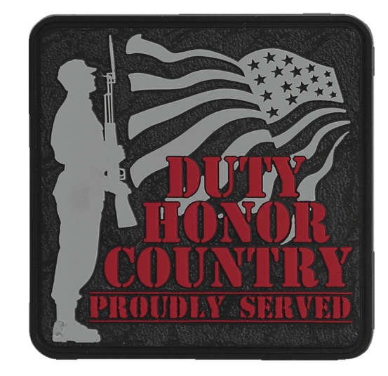 5ive Star Gear Duty Honor Country Morale Patch