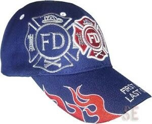 Fire Department First In, Last Out Hat