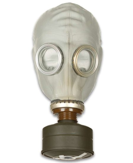 Russian Civilian GP-5 Gas Mask and Bag with Filter