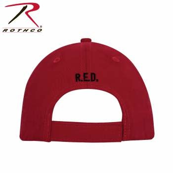 Rothco R.E.D. (Remember Everyone Deployed) Low Profile Cap